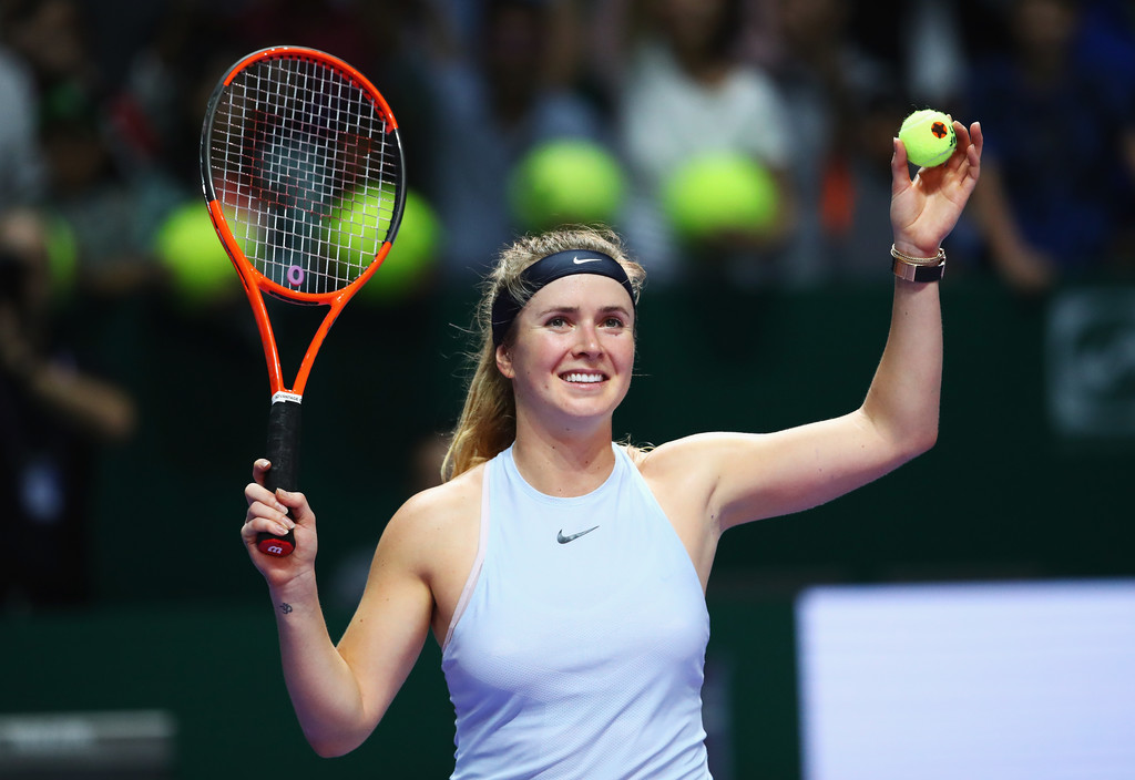 Elina Svitolina wins the WTA Finals!Elina marches into the decisive match of WTA Finals!Elina wins the group and advances to the semi-final of WTA Finals